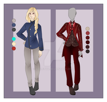 :: September Commission 05: Outfit wardrobe :: by VioletKy