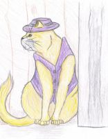 Realistic Top Cat by puddlecat1