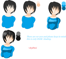 Basic MS Paint Shading Tutorial by IvyDevi