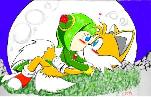 tails and cosmo :3 by erosmilestailsprower