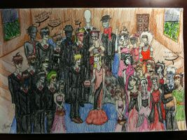 A Creepypasta Wedding by Poet-of-all-Art