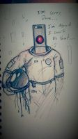 Hal 9000 by MichaelthePure