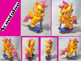Scootaloo Sculpture by CadmiumCrab