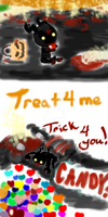 DS: Heartless Halloween xD by SparkzofHope