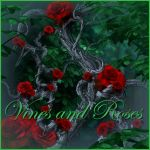 Vines with roses by moonchild-ljilja