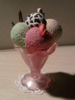 Ice cream fimo by bimbalove81