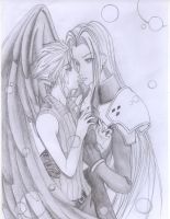 Sephiroth x Cloud by cloudstrifejen