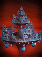 Futuristic Christmas Tree by Godino