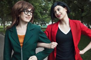 Daria + Jane Lane - Daria cosplay by LuckyStrike-cosplay