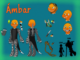 Ambar OC reference by MarAlmok