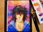 Watercolour- Shadow Blader by CatStudio7