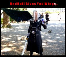 Sephiroth's Endorsement by The-Winter-Cosplayer