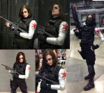 Winter Soldier Cosplay by arania