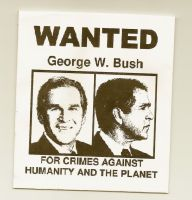 George W. Bush Suks by Zelana