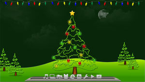Christmas Lights! for Rainmeter 2.5 by lWarMachinel