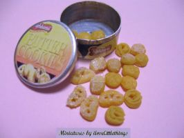 Miniature Butter Cookies by ilovelittlethings