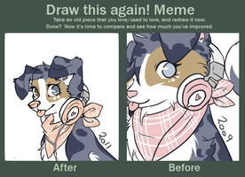 Before and after meme 2 by Nekoshiba