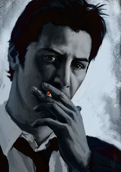 Keanu Reeves - Constantine by Aquila--Audax