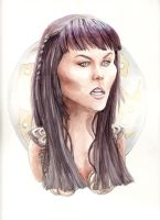 Xena:Warrior Princess by carlalobot