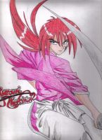 Kenshin Himura: Battosai by Felix-in-Flight