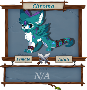 Registration Sheet - Chroma by GalacticCommanderKat