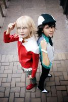 Tiger and Bunny by lonehorizon