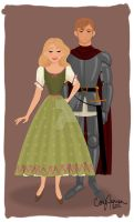 Fairy Tale Paper Dolls by Cor104