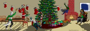 The Big Furry Christmas Party - 2014 by Reeje