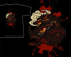 nightscream t-shirt design. by rainmint