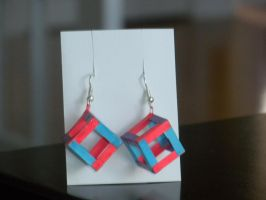 Paper Earrings- Box by paporigami