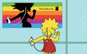 Lisa Simpsons Wallpaper by pleasingfalsetto