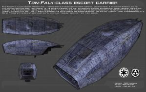 Ton-falk Class Escort Carrier ortho [New] by unusualsuspex