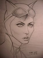 Catwoman by myconius