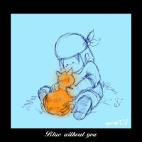 Blue without you by syeri