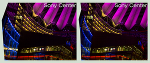 Sony Center I 3D :: Berlin :: HDR Cross-Eye Stereo by zour