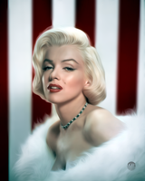 Marilyn Monroe by iTomix