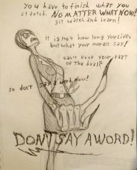 Dont Say A Word by PackRatPrincess