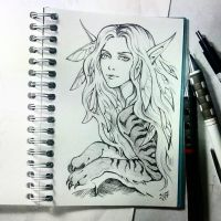 Instaart - Beast-maiden by Candra