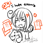 i hate exams by zerocools