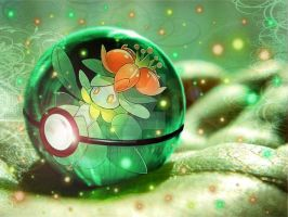 Pokemon: Lilligant by Chieri0