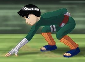 Rock Lee by carglue