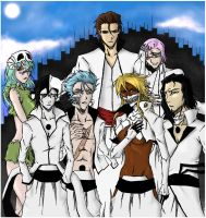 Bleach - The Espada by claudek
