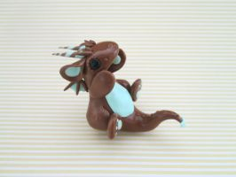 Mint Chocolate Dragon by KriannaCrafts