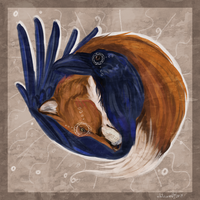 foxes-ravens by whitecrow-soul