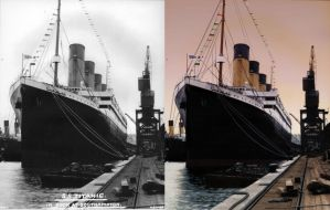 Titanic Vintage Colorized by Jeep4x4John