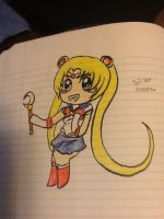 Sailor moon by VerySleepyCat