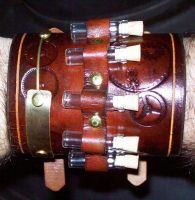 Steampunk Cuff 4 by Steampunked-Out