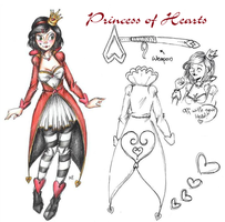 The Princess of Hearts (SV OC ref.) by MikuPapercraft