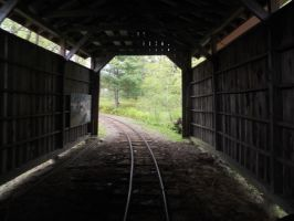 Light at the End of the Tunnel by Saphira001