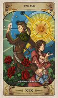 Cerebium Tarot 19 - The Sun by Hedrick-CS